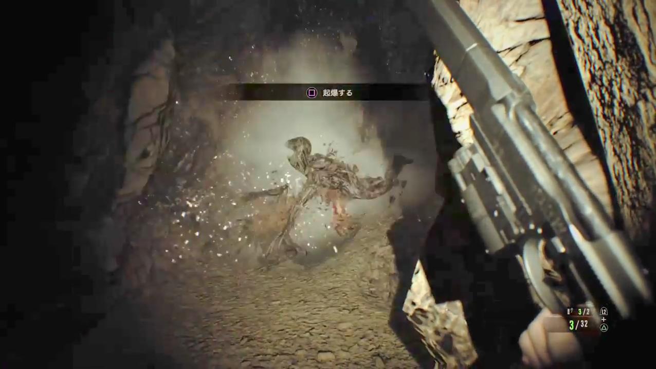 モールデッド&四つ脚モールデッドはリモコン爆弾で一気に倒す