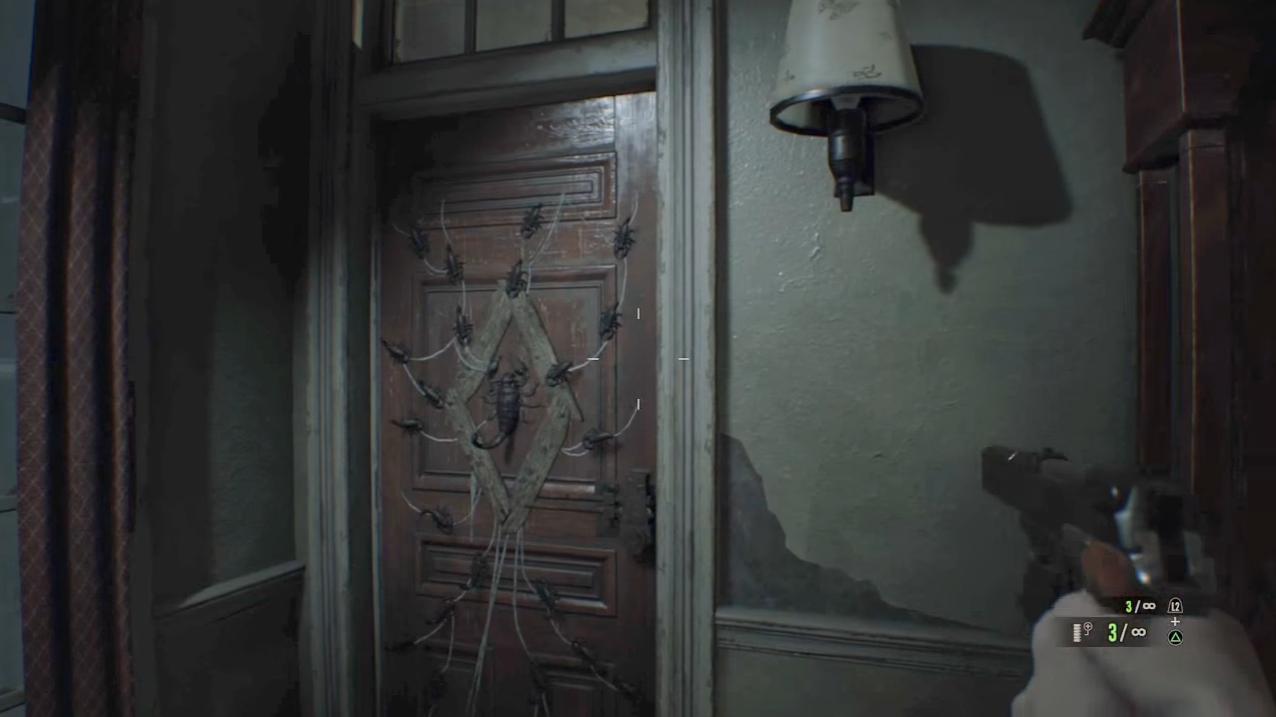 ジャックはサソリの鍵で開く扉の先までは追って来れない